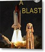 Have A Blast Metal Print by Eric Kempson