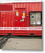 Heavy Duty High Power Industrial Metal Print by Corepics