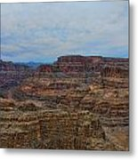 Helicopter View Of The Grand Canyon Metal Print