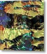 Hills Of Gold Metal Print by Monroe Snook
