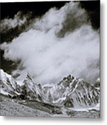 Himalayan Mountain Range Metal Print