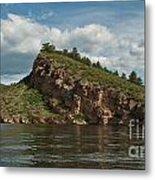 Horsetooth Reservoir View Toward Inlet Bay Metal Print