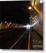Inside The Stockton Street Tunnel In San Francisco . 7d7363.3 Metal Print