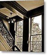 Interior Elegance Lost In Time Metal Print