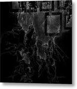 Inverted Frames Metal Print by Bodhi