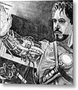 Iron Man Metal Print