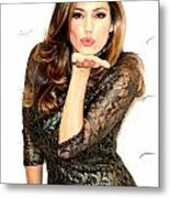 Is That Kiss For Me Metal Print