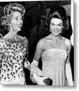 Jacqueline Kennedy With The Wife Metal Print by Everett