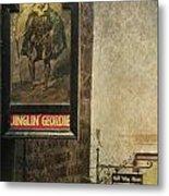 Jinglin' Geordie Metal Print