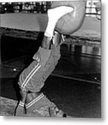 Joe Frazier In Training At The Concord Metal Print