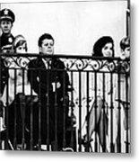 John F. Kennedy Jr. Gets A Closer Look Metal Print by Everett