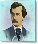 John Wilkes Booth, Assassin Metal Print