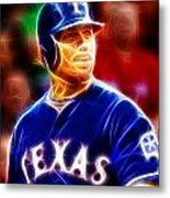 Josh Hamilton Magical Metal Print