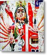 Kaliyuga Metal Print by Dev Gogoi