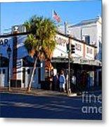 Key West Bar Sloppy Joes Metal Print by Susanne Van Hulst