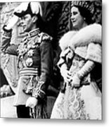King George Vi, Queen Elizabeth Metal Print