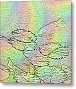 Koi Rainbow Metal Print