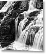 Lake Mcdonald Falls Glacier National Park Metal Print