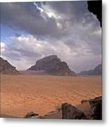 Landscape Of The Desert Metal Print