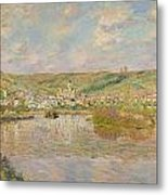 Late Afternoon - Vetheuil Metal Print