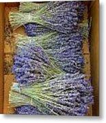 Lavender Bundles Metal Print