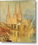 Lichfield Metal Print by Joseph Mallord William Turner