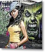 Lil Kim Metal Print by The DigArtisT