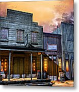 Little Town Metal Print by Joel Payne