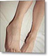 Long Toe Lover Metal Print by Tos Photos