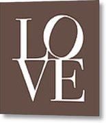 Love In Chocolate Metal Print by Michael Tompsett