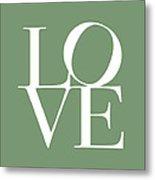 Love In Green Metal Print by Michael Tompsett