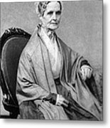 Lucretia Coffin Mott, American Activist Metal Print by Photo Researchers