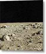 Lunar Surface Metal Print by Science Source