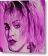 Madonna Metal Print