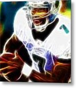 Magical Michael Vick Metal Print by Paul Van Scott
