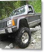 'manche On Gamblers Metal Print