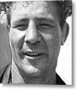 Max Baer Sr. 1909-1959 During Workout Metal Print by Everett
