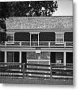 Mclean House Bw Appomattox Virgnia Metal Print