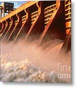 Mcnary Dam Metal Print by DOE/Science Source