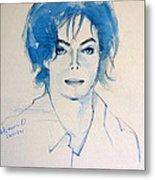 Michael Jackson - Gimme Your Wings Metal Print by Hitomi Osanai