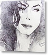 Michael Jackson - Nothing Compared To You Metal Print