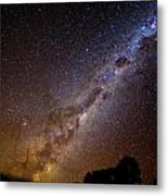 Milky Way Down Under Metal Print