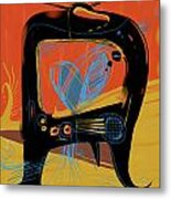 Miro Andmax Watch Lucy Metal Print by Russell Pierce