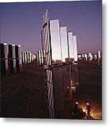 Mirror-winged Solar Panels Convert Metal Print