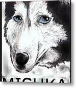 Mishka Fan Poster Metal Print