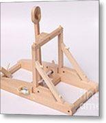 Model Catapult Metal Print