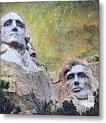 Mount Rushmore - My Impression Metal Print by Jeff Burgess