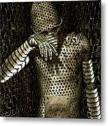 Mr. K Metal Print by Alexei Solha