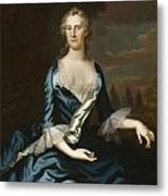 Mrs. Charles Carroll Of Annapolis Metal Print