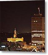 Nashville Cityscape 5 Metal Print by Douglas Barnett